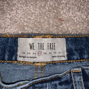 We the free jeans